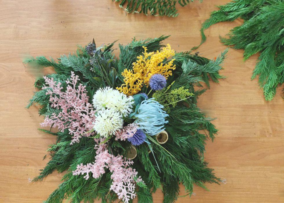 Warsztaty Florystyczne   Kompozycje Funeralne