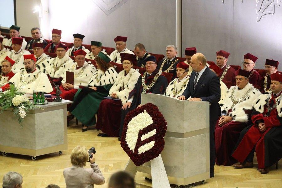 Święto UTP i inauguracja Politechniki Bydgoskiej, fot. Filip Kowalkowski dla UMWKP