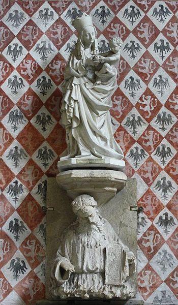 Toruń, katedra Świętych Janów, Piękna Madonna (kopia). Fot. Ludwig Schneider / Wikimedia. Udostępniono na GNU Licencji Wolnej Dokumentacji oraz na licencji Creative Commons Uznanie autorstwa–na tych samych warunkach 3.0