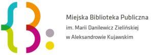 miejska biblioteka aleksandrów kuj logo